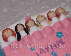 Spa/Sleepover Theme: Slumber Party Cake