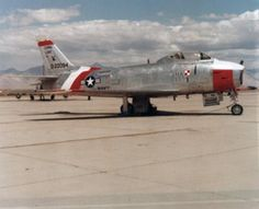 QF-86H Sabre of the Cold War era.