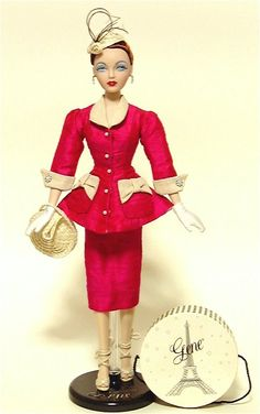Gene Meet Me in Paris Dressed Doll 2000 by Vince Nowell for Paris Fashion Doll Festival Convention Doll Limited to 500 Circa 1949