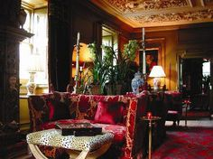prestonfield house for delicious afternoon tea