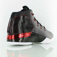buy popular bd9f9 6182e jordan AIR JORDAN 17 + RETRO BLACK GYM RED-WHITE