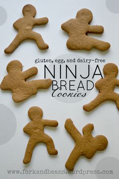 ninja gingerbread- Hmm... I think I'll use a different cookie cutter!