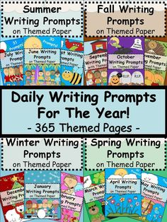 This bundle combines all 12 of my monthly writing prompts into one amazing Daily Writing Prompts, Teaching Writing, Writing Activities, Teaching Resources, Efl Teaching, Writing Strategies, Language Activities, Writer Workshop, Addition And Subtraction