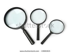 magnifying glass set