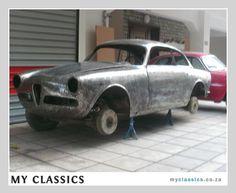Classic Car For Sale: 1959 Alfa Romeo Giulietta Sprint (£11500)