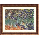 Found it at Wayfair - Museum Reproductions Les Irises (Irises) by Vincent Van Gogh Framed Painting Print