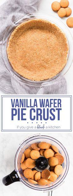 Vanilla Wafer Pie Crust