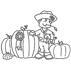 Want to keep your child engaged with some informative and fun oriented methods? How about using colors? Here are free printable pumpkin patch coloring pages