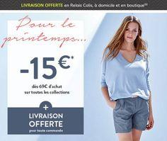 #couponpromo Pour le Printemps -15€ dès 69€ d'achat sur toutes les collections + #LivraisonOfferte  http://www.coupon-promo.fr/reduction-Cyrillus-i228.html