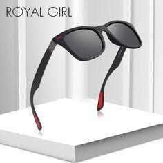 0b2bdb156bb ROYAL GIRL Vintage Square Sunglasses Men New Polarized Outdoor Men s  Driving Black Frame Eyewear Sun Glasses