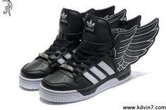 Fashion Adidas X Jeremy Scott Wings 2.0 Shoes Black