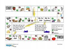 Count and no count nouns board game