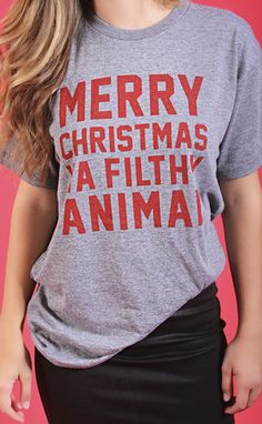 """charlie southern: merry christmas tee -- get 15% off + Free Shipping w/code """"RiffraffRepLauren"""" at checkout on ShopRiffraff.com!"""