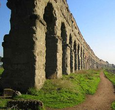 The Rome Aquaduct is a great example of the engineering marvels of ancient Rome.
