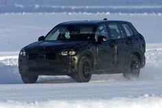 Volvo XC90 2015 Spy Shot