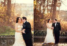 Bride & Groom fall wedding   © Matt Ramos Photography