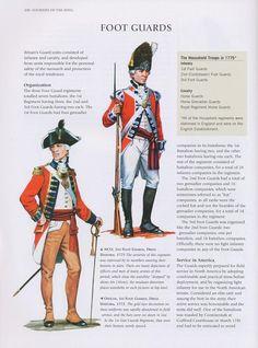 Commandement et état-major britanniques guerre d'indépendance