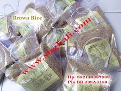 Serba Beras Merah Bali di Kafe Herbal Lovina - Singaraja: Brown Rice Bali