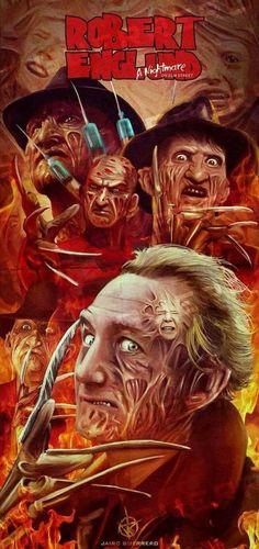 Robert Englund, Freddy Krueger.