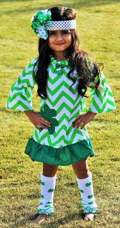 So… Do they make this for adults?? (St. Patrick's Day Dress St. Patrick's Day Outfit by babyOclothing)
