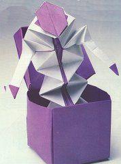 Surprise box origami