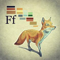 'F' is for Fox! #DailyAnimal #AnimalaDay #fox #painting #drawing #wacom #Cintiq #workinprogress #wip