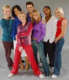 s club 7 images - Google Search Jo O'meara, Jon Lee, S Club 7, Rachel Stevens, Childhood Memories 90s, 90s Girl, City Boy, London City