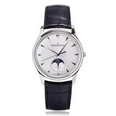 Reis-Nichols Jewelers : Jaeger-lecoultre Master Ultra Thin 39 Moonphase Watch