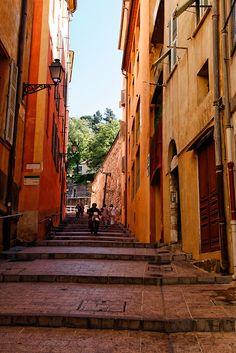 Rue du Château, vieux Nice
