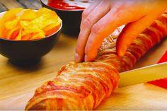 Dit gevulde stokbrood smaakt gewoon goddelijk! Er zijn van die dagen dat je gewoon zin hebt in iets écht lekkers. Iets speciaals