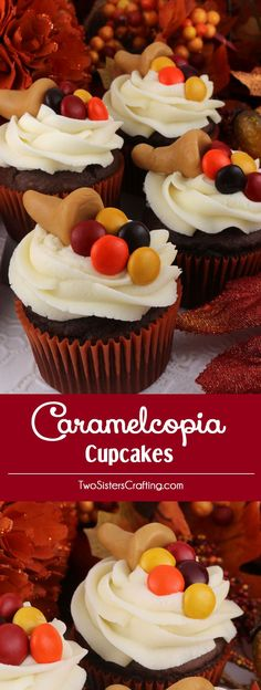 Lower Excess Fat Rooster Recipes That Basically Prime Thanksgiving Caramelcopia Cupcakes - These Super Cute Thanksgiving Cupcakes Are So Easy To Make And Will Look Great On Your Thanksgiving Dessert Table. Tail Us For More Great Thanksgiving Food Ideas. Thanksgiving Cupcakes, Holiday Cupcakes, Thanksgiving Recipes, Thanksgiving Cornucopia, Thanksgiving Favors, Turkey Cupcakes, Thanksgiving Prayer, Party Cupcakes, Thanksgiving Celebration
