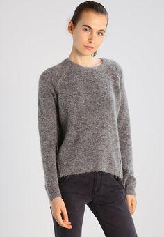 Minimum KITA - Sweter - grey melange - Zalando.pl