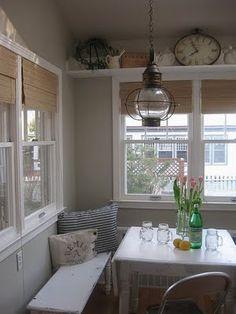 1000 images about sunroom on pinterest sunrooms for Sunroom breakfast nook