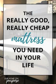 best mattress to buy mattress topper cheap mattress memory foam Affordable Mattress, Cheap Mattress, Best Mattress, Latex Mattress, Cheap Bedroom Furniture, Medical Prescription, Frugal Tips, Good Sleep, Clean House