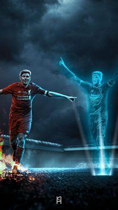 (18) Tweets com mídias de Andy_gfx (@andy__gfx) / Twitter Lfc Wallpaper, Liverpool Fc Wallpaper, Salah Liverpool, Liverpool Football Club, Gerrard Liverpool, Messi And Ronaldo, Sports Graphic Design, Best Club, Steven Gerrard