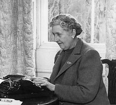 Agatha Christie. One of my many heroes:-)