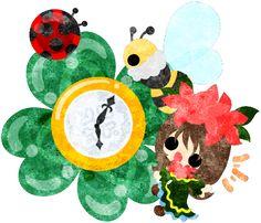 春のフリーのイラスト素材クローバーの宝石と可愛い小さな女の子のイラスト  Free Illustration of spring Illustration of clover jewel and cute little girl   http://ift.tt/2moaWap