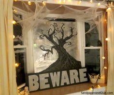 Fun Halloween Window Decor!