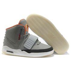 Nike Air Yeezy 2 II Kanye Wests Grey Orange