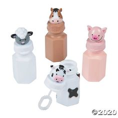 Make one special photo charms for your pets, compatible with your Pandora bracelets. Topped with adorable animals, these bubbles are great party favors for a farm celebration! The party mood will soar at your barnyard bash when you add these . Farm Party Favors, Barnyard Party, Birthday Party Favors, Birthday Ideas, Farm Themed Party, Farm Party Decorations, Barnyard Cake, Birthday Banners, Craft Party