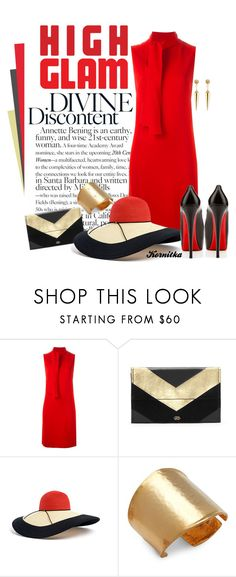 """""""nr 1140 / High Glam"""" by kornitka ❤ liked on Polyvore featuring Joseph, Vince Camuto, Eugenia Kim, Kenneth Jay Lane and Sydney Evan"""