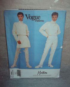 Vogue Patterns Montana Paris Original 1484 Vintage Uncut Size 6 8 10