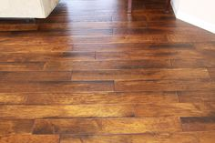 Hand-scraped Hardwood Floor Gallery - Custom Floors & More | Wood & Tile floors for Belleville, Shiloh, O'Fallon, Collinsville, Swansea and Fairview Heights, Illinois