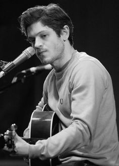 Iwan Rheon- a hottie, very talented actor.....and he sings and plays guitar and writes his songs too!