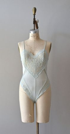 vintage light blue lace