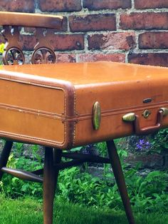 Camel Brown Samsonite Vintage Suitcase | Vintage Luggage | Vintage Home  Decor | Vintage Storage Solution