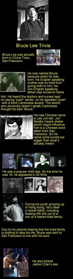 Bruce Lee Facts, lg jj