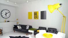 Большая гигантская торшерка, вы, должно быть, удивлены?  #architecture #Floor #design #decor #art #light #interior