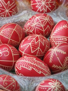 Beyond White Lake: Easter in Ghymes: Easter Eggs