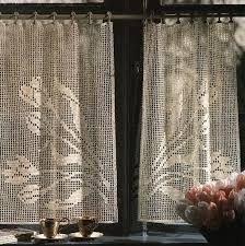 Resultado de imagem para grafico de cortina de croche para sala